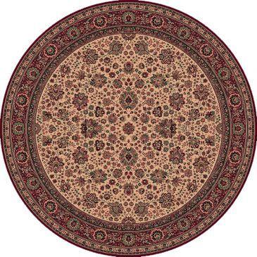 Royal Rond Perzisch tapijt