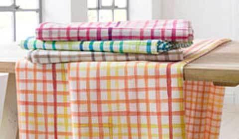 Op deze afbeelding ziet u de tafelkleden collectie Casata