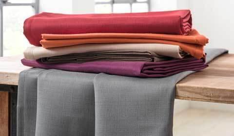 Op deze afbeelding ziet u de tafelkleden collectie Viva