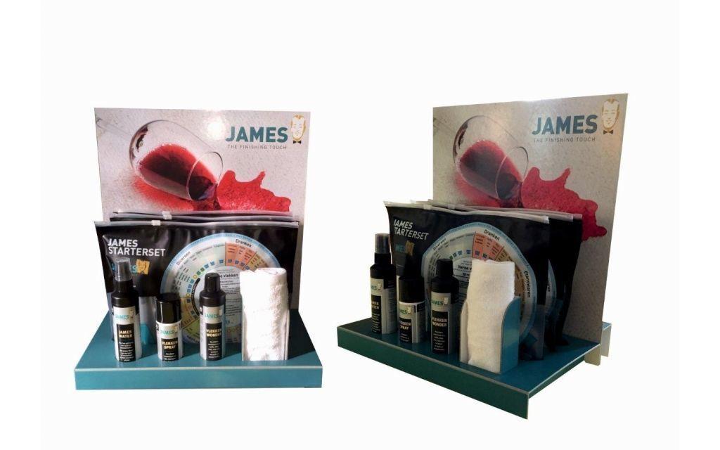 James Starterset (per 10stuks) incl. gratis display