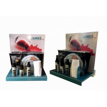 James Starterset (per 10stuks) incl. gratis display