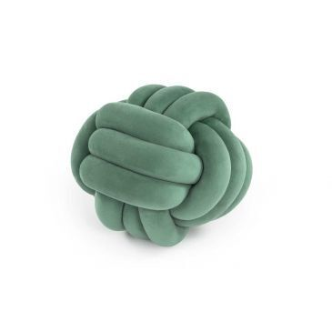 Knotted Pillow 1  Mint