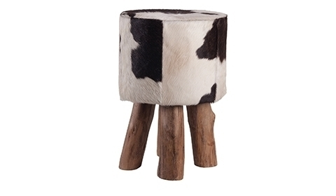 Hocker Stierenhuid